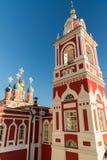église de St George dans la rue chez Varvarka, Russie images stock
