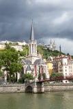 Église de St George, Lyon Image libre de droits