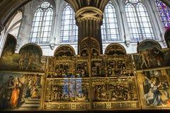 Église de St Germain Auxerrois, Paris, France photos libres de droits