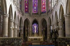Église de St Germain Auxerrois, Paris, France photos stock