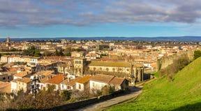 Église de St Gimer à Carcassonne Images stock