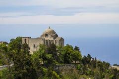 Église de St Giovanni dans Erice, Italie photographie stock libre de droits
