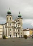 Église de St Ignatius à Gorizia l'Italie photographie stock libre de droits