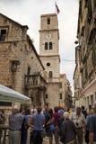 Église de St John, Sibenik, Croatie Photos stock