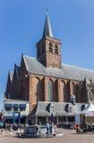 Église de St Joris à la place centrale d'Amersfoort Images stock