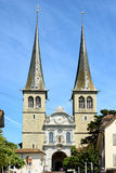 Église de St Leodegar Photo stock
