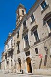 Église de St Lorenzo San Severo La Puglia l'Italie Images libres de droits