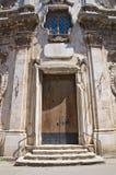 Église de St Lorenzo San Severo La Puglia l'Italie Photographie stock libre de droits