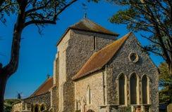 Église de St Margarets, Rottingdean, le Sussex, Angleterre photos libres de droits