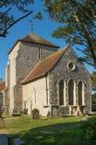 Église de St Margarets, Rottingdean, le Sussex, Angleterre photographie stock libre de droits