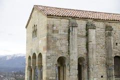 Église de St Mary au bâti Naranco Photos libres de droits