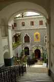 Église de St Mary Draperis Istanbul Photos stock