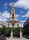 Église de St Mary Le Strand Photo libre de droits