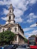 Église de St Mary Le Strand Photographie stock