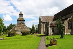 Église de St Marys, Pembridge Photo stock