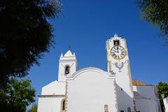 Église de St Marys, Tavira image stock