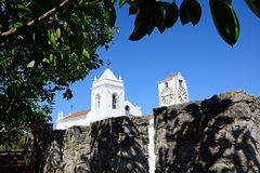 Église de St Marys, Tavira photographie stock