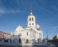 Église de St Michael Arkhangel Harlampievskaya Photo libre de droits