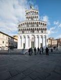 Église de St Michael Lucques Toscane Italie l'Europe photo libre de droits
