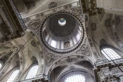 Église de St Paul St Louis, Paris, France Photo stock