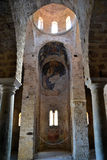 Église de St.Sophia, Mystras images stock