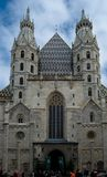 Église de St Stephen à Vienne Images libres de droits