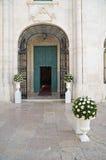 Église de St Teresa Trani La Puglia l'Italie images libres de droits