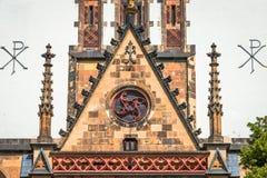 Église de St Thomas à Leipzig, Allemagne image stock