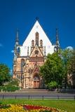 Église de St Thomas à Leipzig, Allemagne photos libres de droits