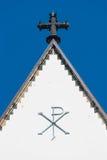 Église de St Thomas à Leipzig, Allemagne image libre de droits