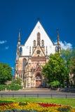 Église de St Thomas à Leipzig, Allemagne photo stock