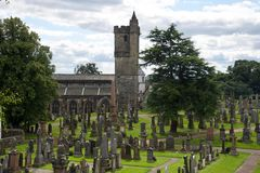 Église de Stirling Photo stock
