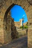 Église de StNicolo par la vieille voûte Image libre de droits