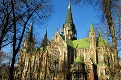 Église de Sts Olha et Elizabeth, Lviv, Ukraine photographie stock