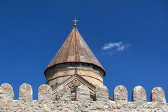 Église de Svetitskhoveli. Mtskheta. La Géorgie. Photographie stock libre de droits