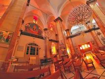 Église de synagogue à Nazareth Photo libre de droits