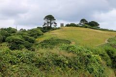 Église de Talland sur la colline Images libres de droits