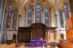 Église de temple à Londres image stock