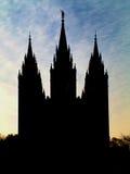 Église de temple Images libres de droits