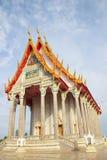 Église de temple thaï Images stock
