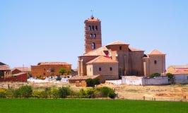 Église de Torremormojon image libre de droits