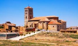Église de Torremormojon Province de Palencia image libre de droits