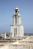 Église de tour de Bell à Casablanca, Maroc photographie stock libre de droits