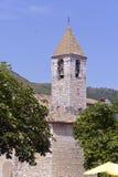 Église de Tourrettes-sur-Loup dans les Frances photographie stock libre de droits