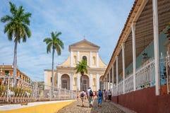 Église de trinité sainte au Trinidad, Cuba Photo libre de droits