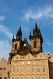 Église de Tyn à Prague Photos libres de droits
