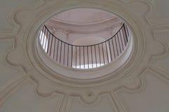 Église de ` Uberto, Reggia di Venaria, détail de Sant d'une église de lucarne de ` Ube de Sant photo libre de droits