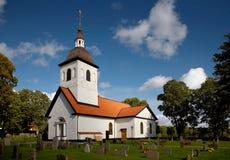 Église de Vardinge, Suède Images stock