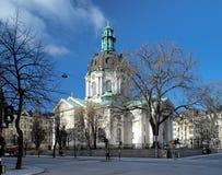 Église de Vasa de Gustav à Stockholm photographie stock libre de droits