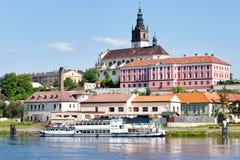 Église de Vierge Marie, Litomerice, Bohême, République Tchèque Photos libres de droits